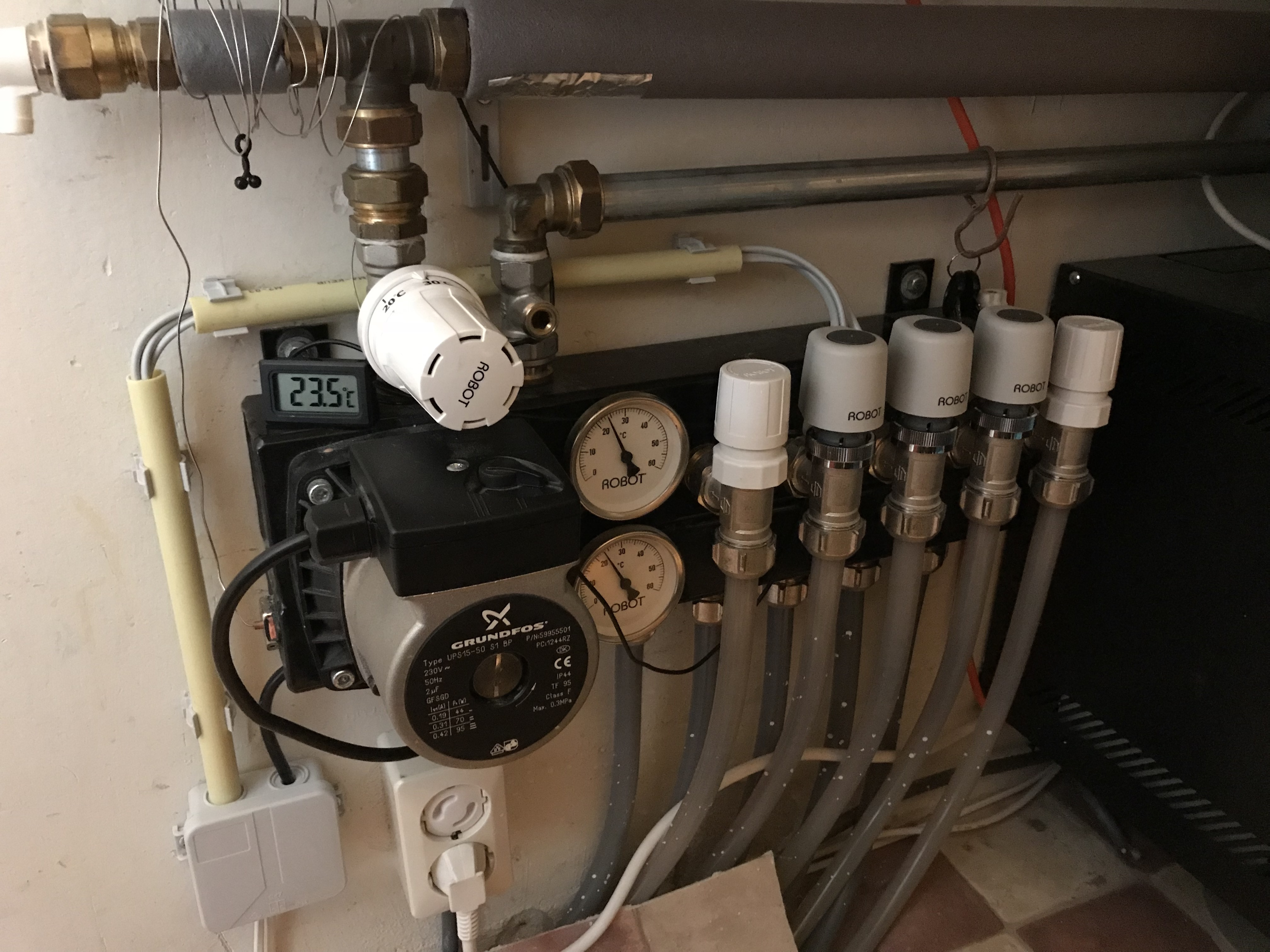 Super Temperatuur Vloerverwarming Instellen HF35